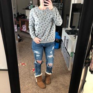 Converse Sneaker Crew Sweater